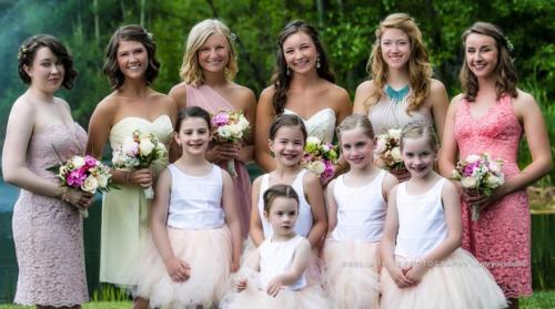Sydney and Bridesmaids