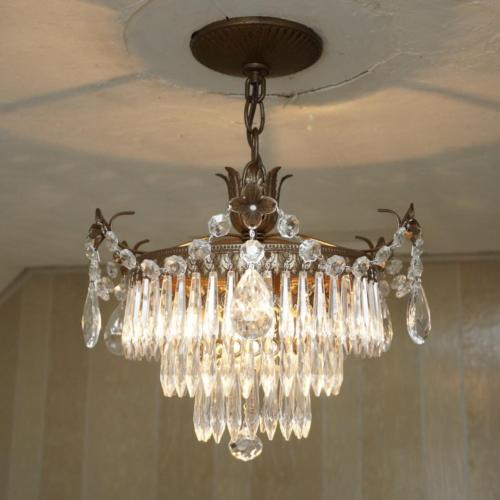 Crystal Drip Chandelier 1