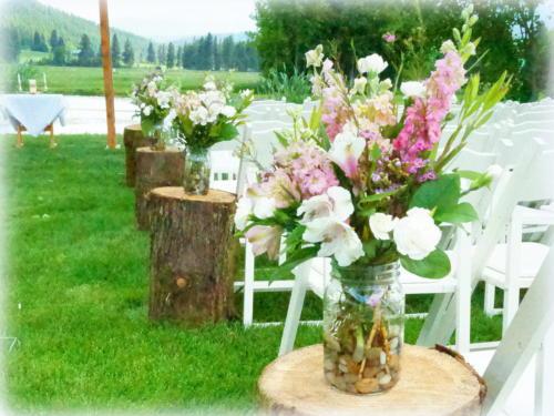SL Aisle Bouquet